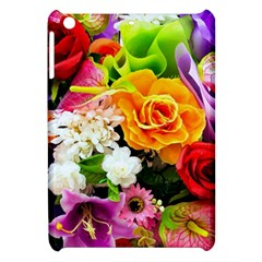 Colorful Flowers Apple Ipad Mini Hardshell Case by BangZart