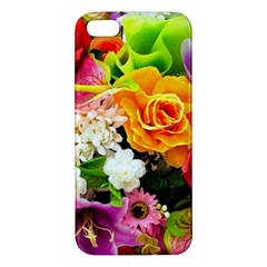 Colorful Flowers Apple Iphone 5 Premium Hardshell Case by BangZart