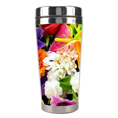 Colorful Flowers Stainless Steel Travel Tumblers