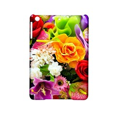 Colorful Flowers Ipad Mini 2 Hardshell Cases by BangZart