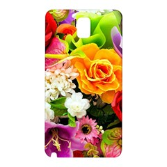Colorful Flowers Samsung Galaxy Note 3 N9005 Hardshell Back Case