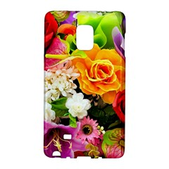 Colorful Flowers Galaxy Note Edge by BangZart