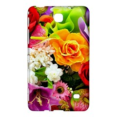 Colorful Flowers Samsung Galaxy Tab 4 (8 ) Hardshell Case  by BangZart