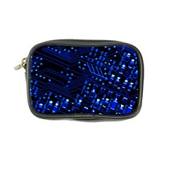 Blue Circuit Technology Image Coin Purse by BangZart