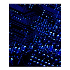 Blue Circuit Technology Image Shower Curtain 60  X 72  (medium)  by BangZart