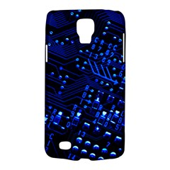 Blue Circuit Technology Image Galaxy S4 Active