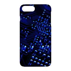 Blue Circuit Technology Image Apple Iphone 7 Plus Hardshell Case