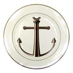 Anchor Porcelain Plates by BangZart