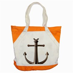 Anchor Accent Tote Bag by BangZart