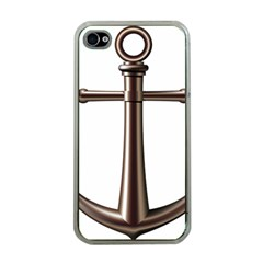 Anchor Apple Iphone 4 Case (clear) by BangZart