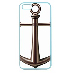Anchor Apple Seamless Iphone 5 Case (color) by BangZart