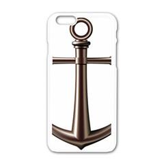Anchor Apple Iphone 6/6s White Enamel Case by BangZart