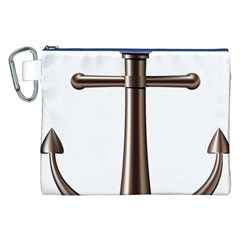 Anchor Canvas Cosmetic Bag (xxl) by BangZart