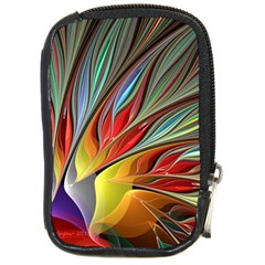 Fractal Bird Of Paradise Compact Camera Cases