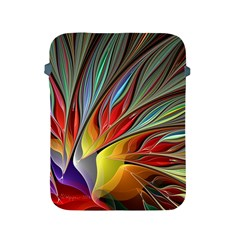 Fractal Bird Of Paradise Apple Ipad 2/3/4 Protective Soft Cases