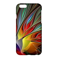 Fractal Bird Of Paradise Apple Iphone 6 Plus/6s Plus Hardshell Case