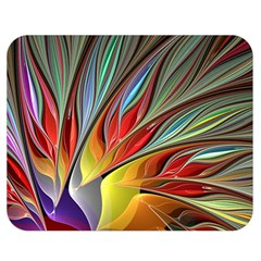 Fractal Bird Of Paradise Double Sided Flano Blanket (medium)  by WolfepawFractals