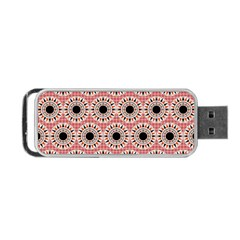 Black Stars Pattern Portable Usb Flash (two Sides) by linceazul
