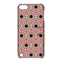 Black Stars Pattern Apple Ipod Touch 5 Hardshell Case With Stand by linceazul