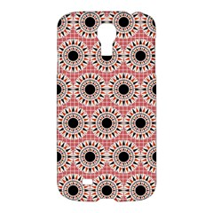 Black Stars Pattern Samsung Galaxy S4 I9500/i9505 Hardshell Case by linceazul