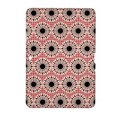 Black Stars Pattern Samsung Galaxy Tab 2 (10 1 ) P5100 Hardshell Case  by linceazul