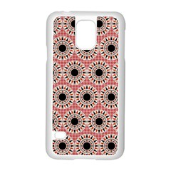 Black Stars Pattern Samsung Galaxy S5 Case (white) by linceazul