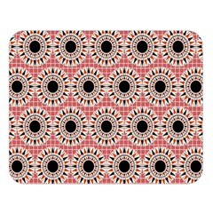 Black Stars Pattern Double Sided Flano Blanket (large)  by linceazul