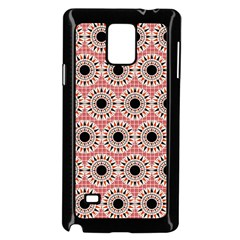 Black Stars Pattern Samsung Galaxy Note 4 Case (black) by linceazul