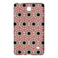 Black Stars Pattern Samsung Galaxy Tab 4 (8 ) Hardshell Case  by linceazul