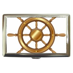 Boat Wheel Transparent Clip Art Cigarette Money Cases