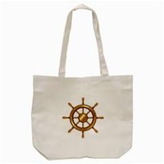 Boat Wheel Transparent Clip Art Tote Bag (cream) by BangZart