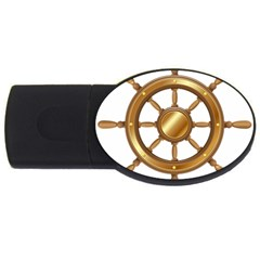 Boat Wheel Transparent Clip Art Usb Flash Drive Oval (4 Gb)