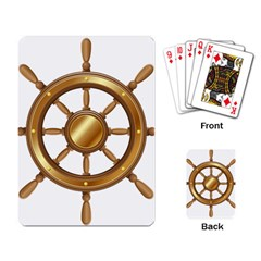 Boat Wheel Transparent Clip Art Playing Card