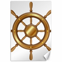 Boat Wheel Transparent Clip Art Canvas 20  X 30   by BangZart