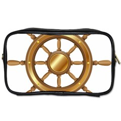 Boat Wheel Transparent Clip Art Toiletries Bags