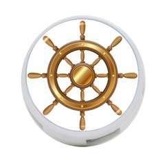 Boat Wheel Transparent Clip Art 4 Port Usb Hub (two Sides)  by BangZart