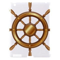 Boat Wheel Transparent Clip Art Apple Ipad 3/4 Hardshell Case (compatible With Smart Cover) by BangZart