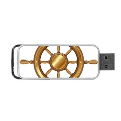 Boat Wheel Transparent Clip Art Portable Usb Flash (two Sides) by BangZart