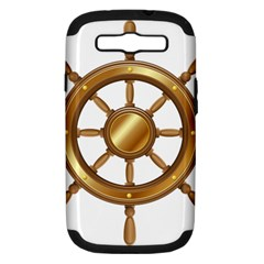 Boat Wheel Transparent Clip Art Samsung Galaxy S Iii Hardshell Case (pc+silicone) by BangZart