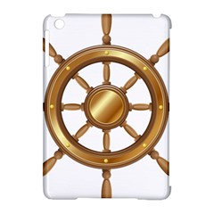 Boat Wheel Transparent Clip Art Apple Ipad Mini Hardshell Case (compatible With Smart Cover) by BangZart