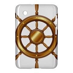 Boat Wheel Transparent Clip Art Samsung Galaxy Tab 2 (7 ) P3100 Hardshell Case  by BangZart