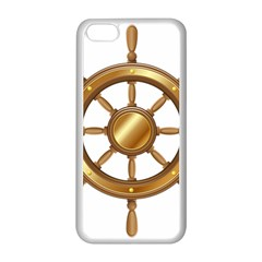 Boat Wheel Transparent Clip Art Apple Iphone 5c Seamless Case (white)