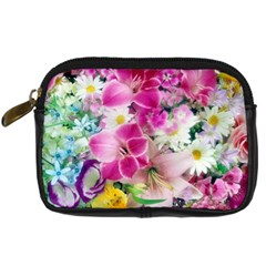 Colorful Flowers Patterns Digital Camera Cases