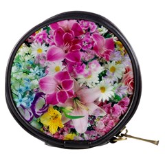 Colorful Flowers Patterns Mini Makeup Bags by BangZart