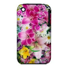 Colorful Flowers Patterns Iphone 3s/3gs by BangZart