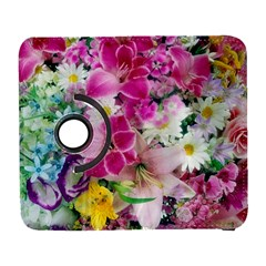 Colorful Flowers Patterns Galaxy S3 (flip/folio) by BangZart