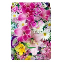Colorful Flowers Patterns Flap Covers (s)  by BangZart