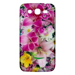 Colorful Flowers Patterns Samsung Galaxy Mega 5 8 I9152 Hardshell Case  by BangZart