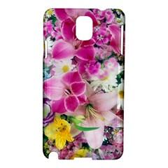 Colorful Flowers Patterns Samsung Galaxy Note 3 N9005 Hardshell Case