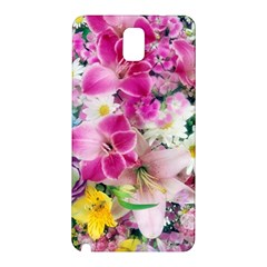 Colorful Flowers Patterns Samsung Galaxy Note 3 N9005 Hardshell Back Case by BangZart